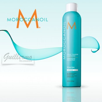 Moroccanoil Fijador Luminoso Medium